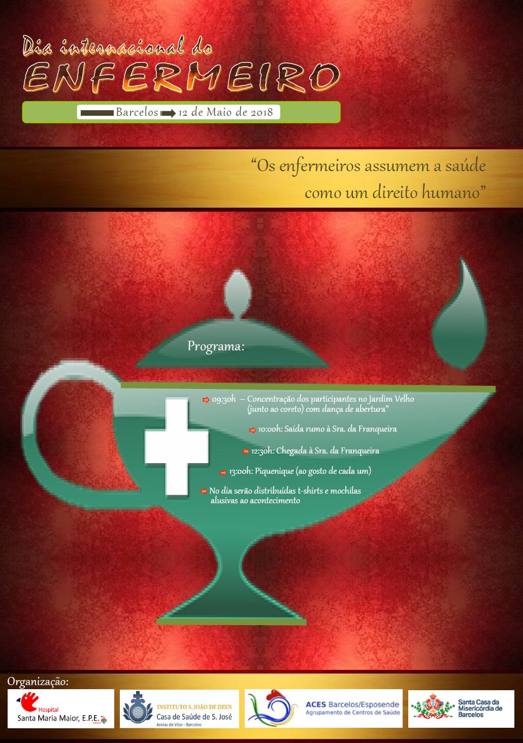 Imagem do evento Comemoração do dia Internacional do Enfermeiro