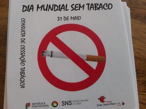 imagem do post do Dia Mundial sem Tabaco – um hospital empenhado na Saúde de todos